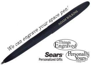Engrave your pen
