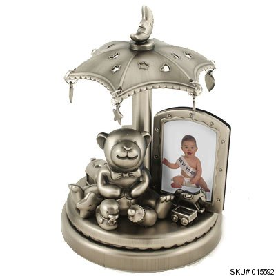 musical baby picture frame