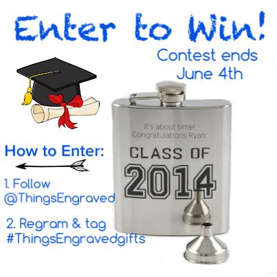 grad flask for contest