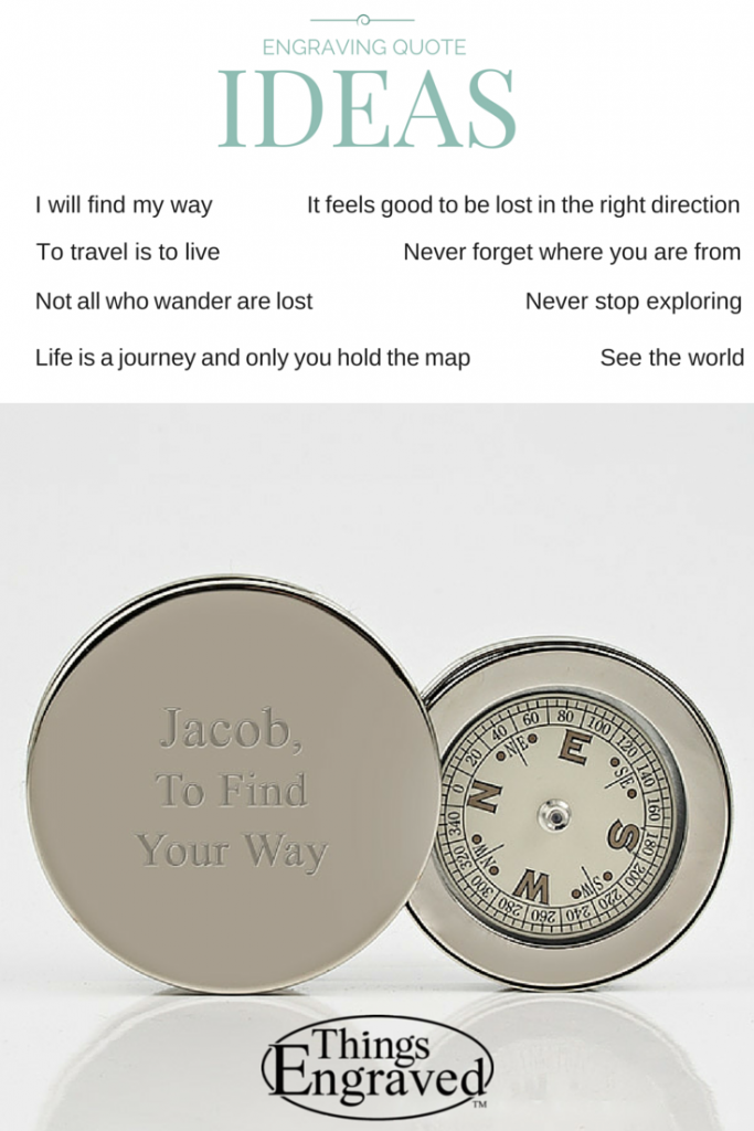 Compass Things Engraved