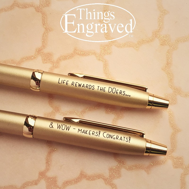 Things Engraved Cadence pen