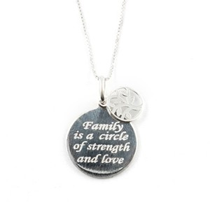 Sterling Silver Tree of Life Necklace Things Engraved
