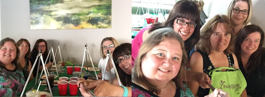 More practice with the selfie stick needed!