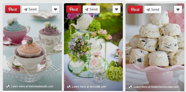 Tea Time ideas from Pinterest!