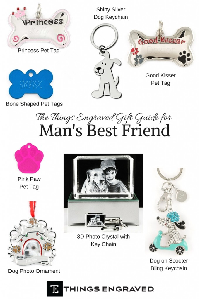 Things Engraved Gift Guide 2015 for Man's Best Friend