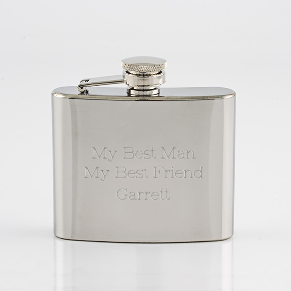 Things Engraved Stainless Steel Flask