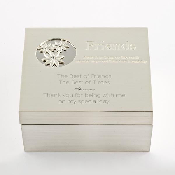 Friends Daisy Trinket Box